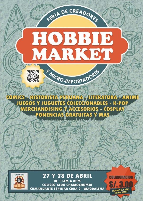 HOBBIE MARKET 2 - AFICHE